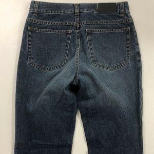 GUCCI Jeans Blue Denim Flare Wide Leg 26x34